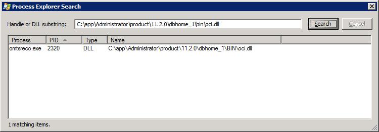 Process Explorer Beispiel